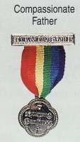 Compassionate Father medal