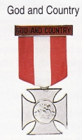 God and Country (Bog I Lojczyzna) medal